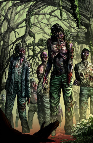 Grimm Fairy Tales: Zombies - Cursed #3 (Eric J Cover)