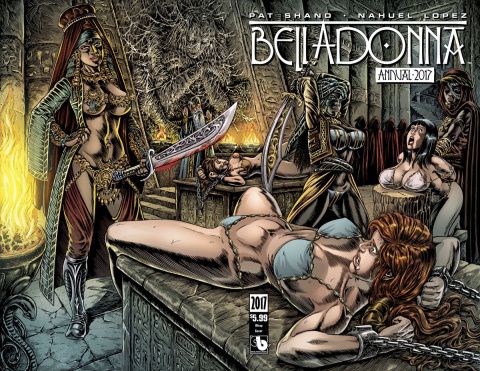 Belladonna Annual 2017 (Wrap Cover)