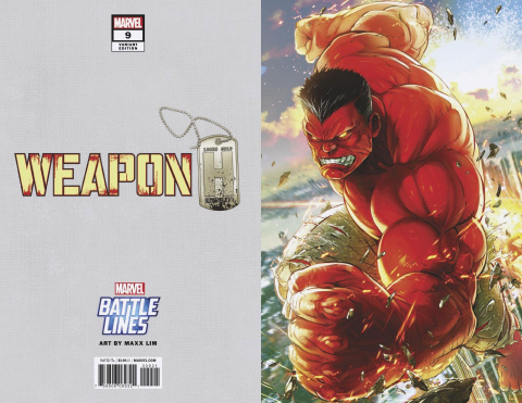 Weapon H #8 (Sujin Jo Marvel Battle Lines Cover)