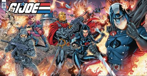 G.I. Joe: A Real American Hero #255 (Tolibao Cover)