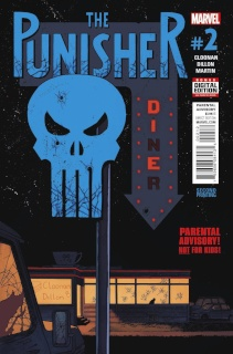 The Punisher #2 (Shalvey 2nd Printing)