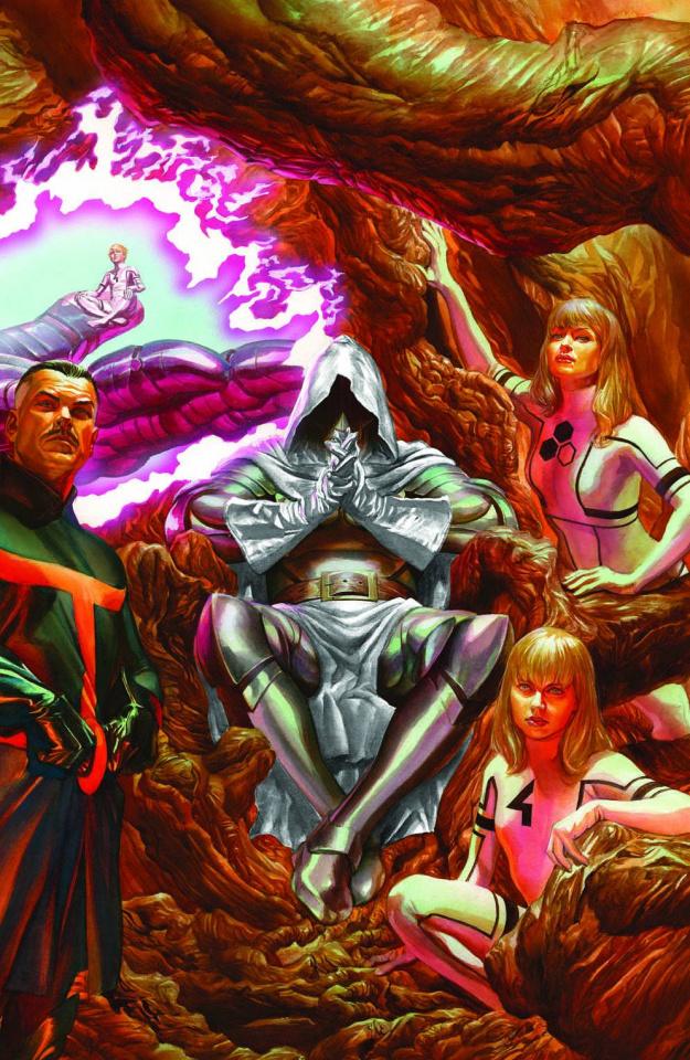 Secret Wars #4 (Ross 2nd Printing)