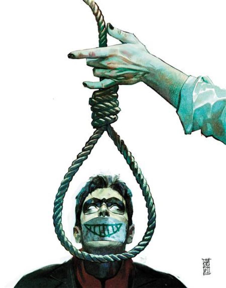 Suicide Squad: Get Joker! #3 (Alex Maleev Cover)