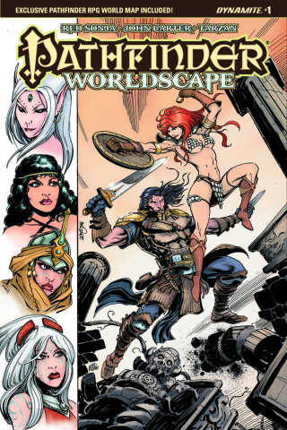 Pathfinder: Worldscape #1 (Mandrake Cover)