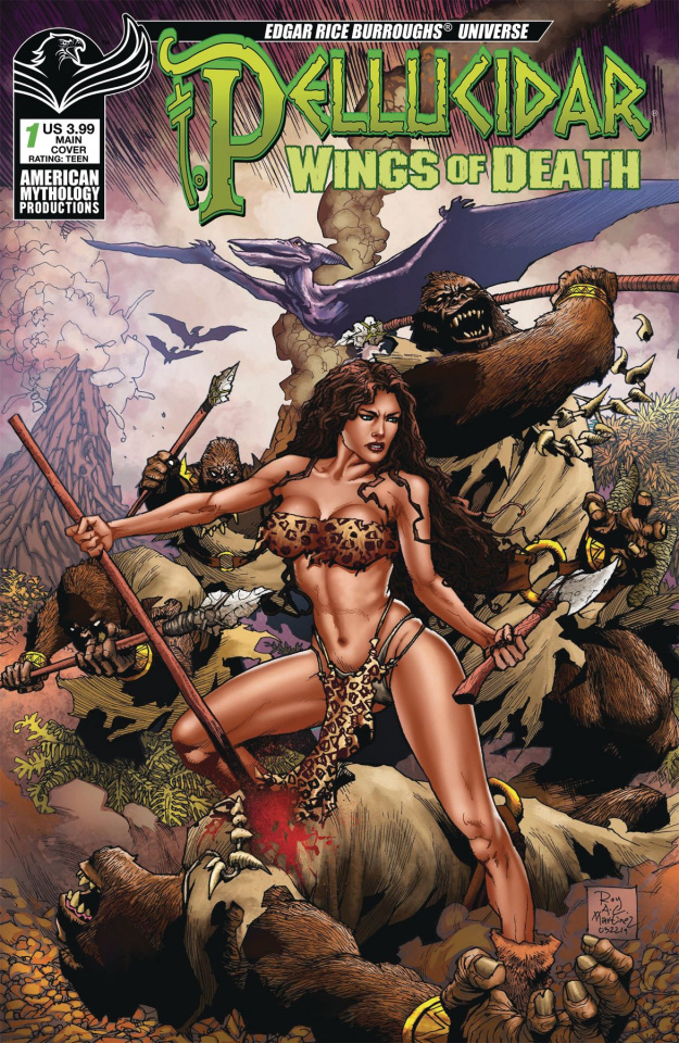 Pellucidar: Wings of Death #1 (Martinez Cover)