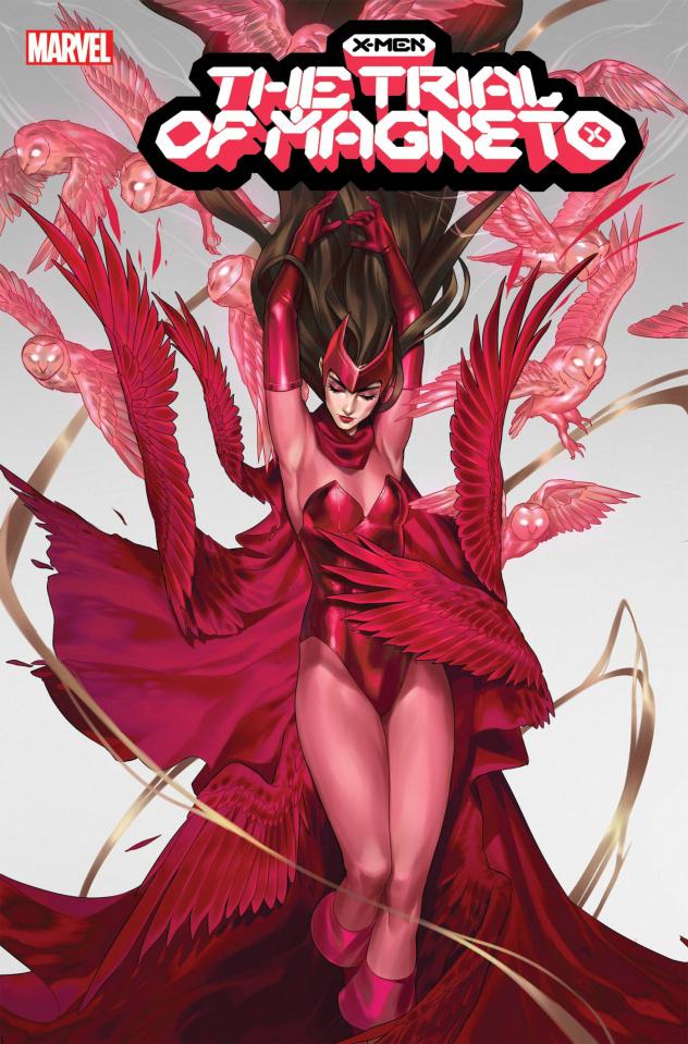 X-Men: The Trial of Magneto #3 (Vega Cover)