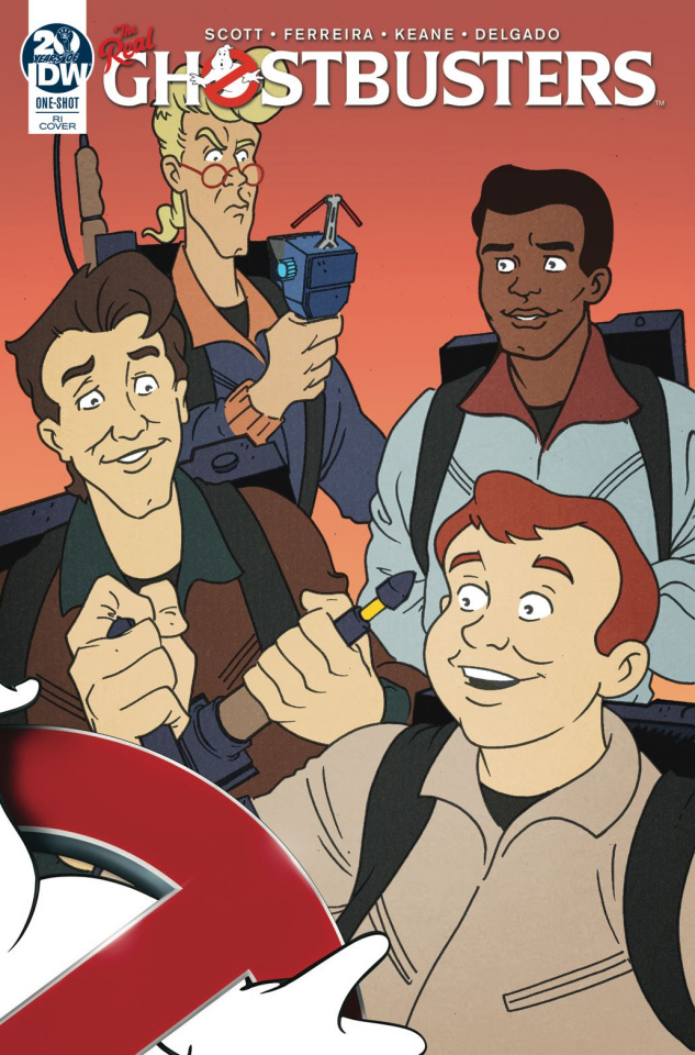 Ghostbusters 35th Anniversary (Real Ghostbusters 10 Copy Cover)
