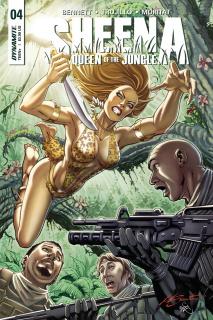 Sheena #4 (Santucci Cover)