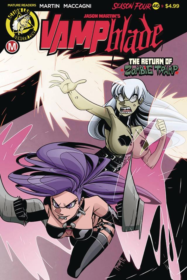 Vampblade, Season Four #9 (Maccagni Cover)