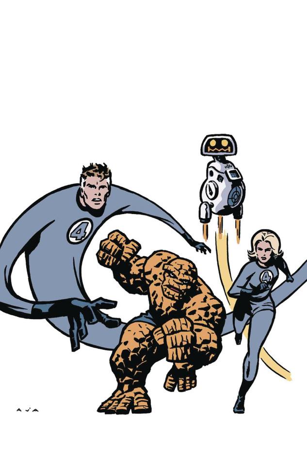 Doctor Strange #4 (Aja Return of Fantastic Four Cover)