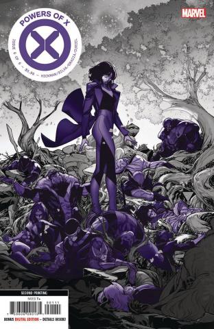 Powers of X #6 (Silva 2nd Printing)