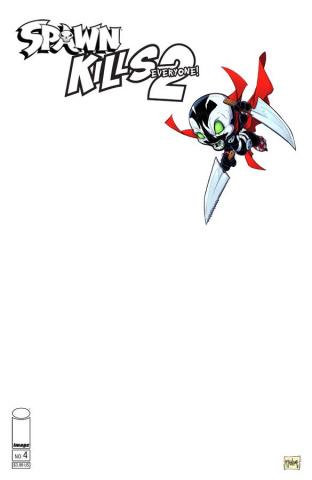 Spawn Kills Everyone Too! #4 (Sketch McFarlane Cover)