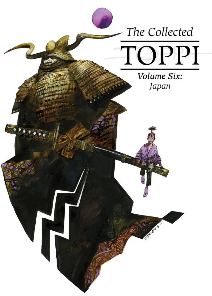 The Collected Toppi Vol. 6: Japan