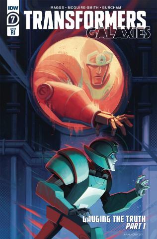 Transformers: Galaxies #7 (10 Copy Malkova Cover)