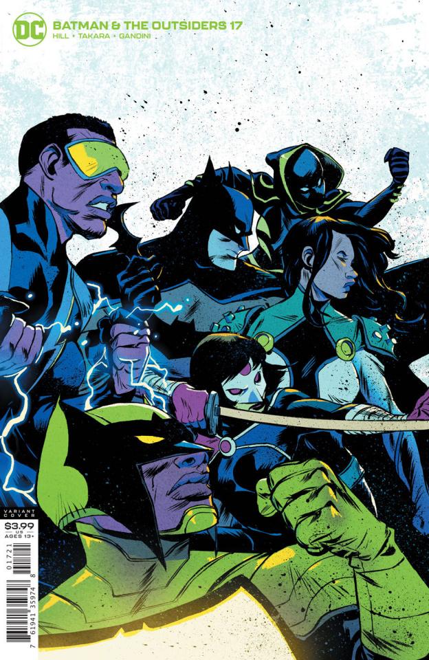 Batman and the Outsiders #17 (Sanford Greene Cover)