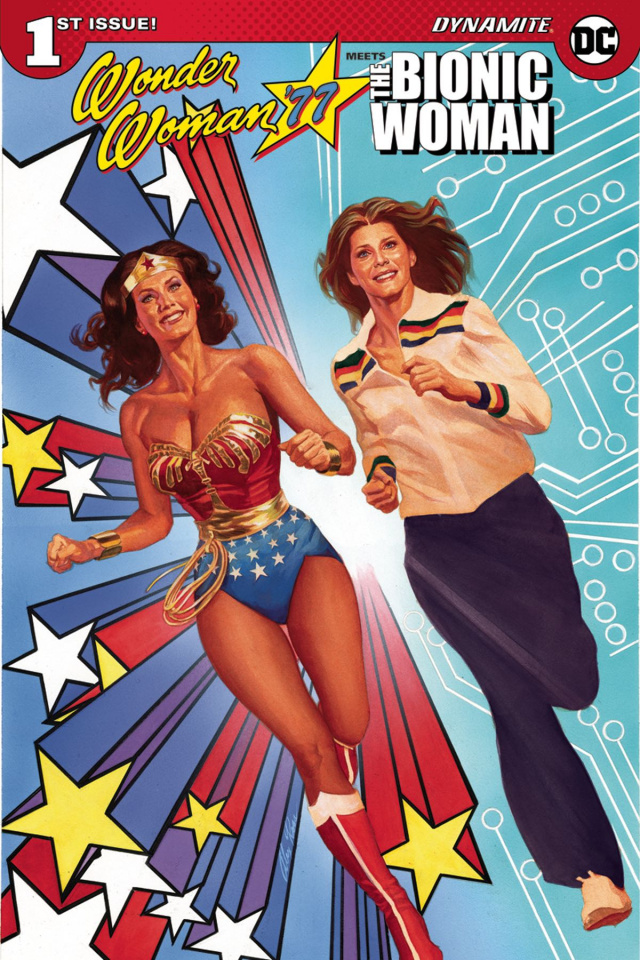 Wonder Woman '77 Meets The Bionic Woman #1 (Ross Cover)