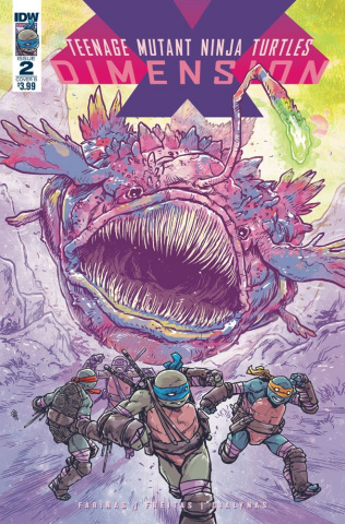 Teenage Mutant Ninja Turtles: Dimension X #2 (Dialynas Cover)