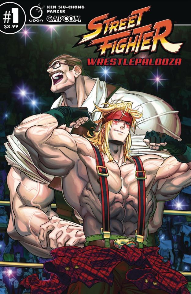 Street Fighter: Wrestlepalooza #1 (Panzer Cover)