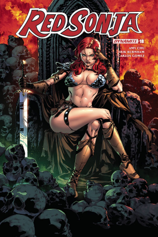 Red Sonja #18 (Gomez Cover)