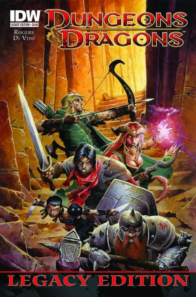 Dungeons & Dragons #1 (Legacy Edition)