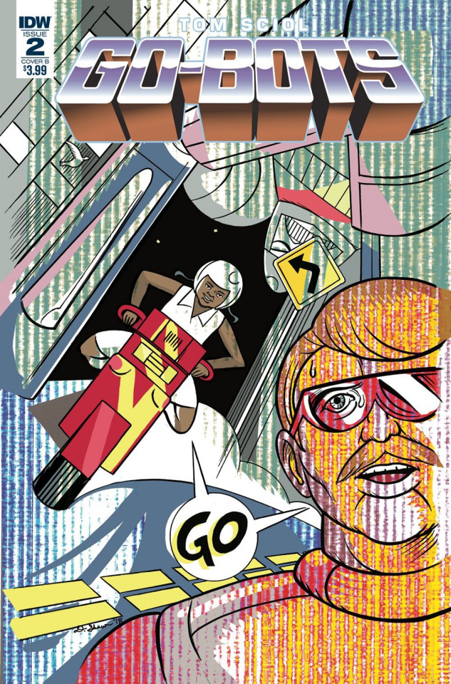 Go-Bots #2 (Shaw Cover)