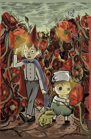 Over the Garden Wall #12 (Subscription Sigh Cover)