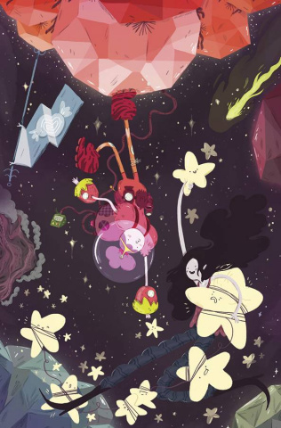 Adventure Time: Marceline Gone Adrift #4 (20 Copy Loup Cover)