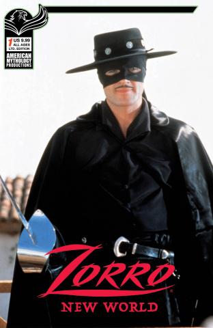 Zorro: New World #1 (Photo Cover)