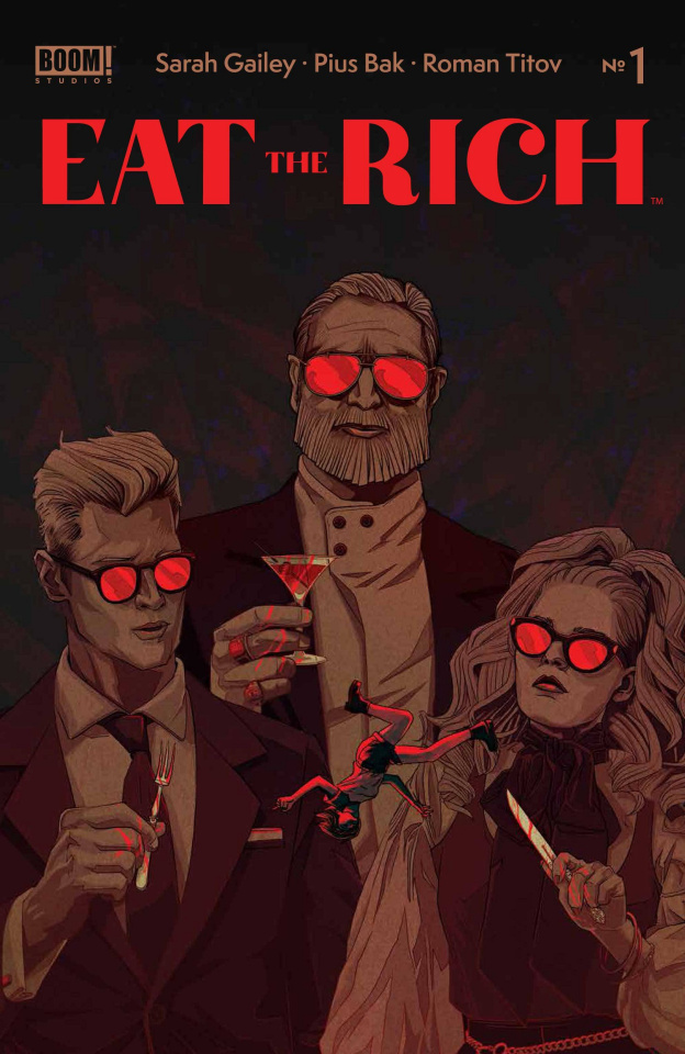 Eat the Rich #1 (Tong Cover)