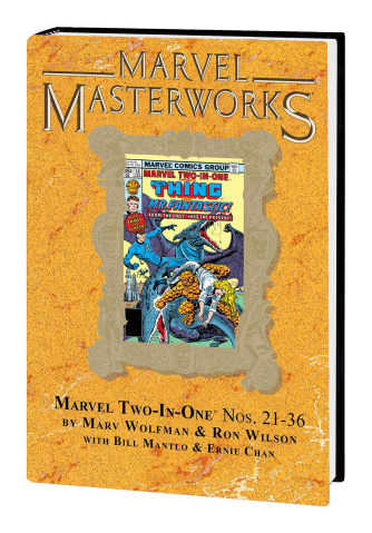 Marvel Two-in-One Vol. 3 (Marvel Masterworks)