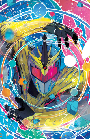 Mighty Morphin' Power Rangers: Shattered Grid #1 (25 Copy Ward Cover)