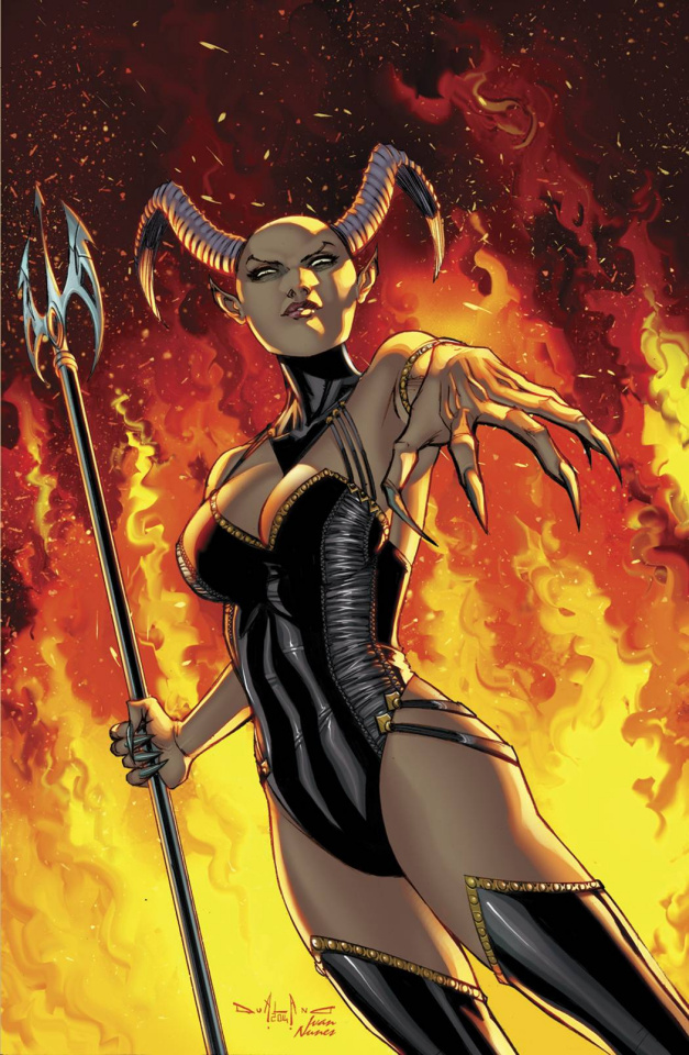 Grimm Fairy Tales: Inferno - The Rings of Hell #1 (Qualano Cover)