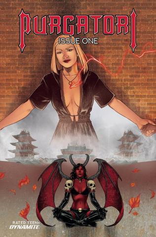 Purgatori #1 (Bonus Sarraseca Cover)