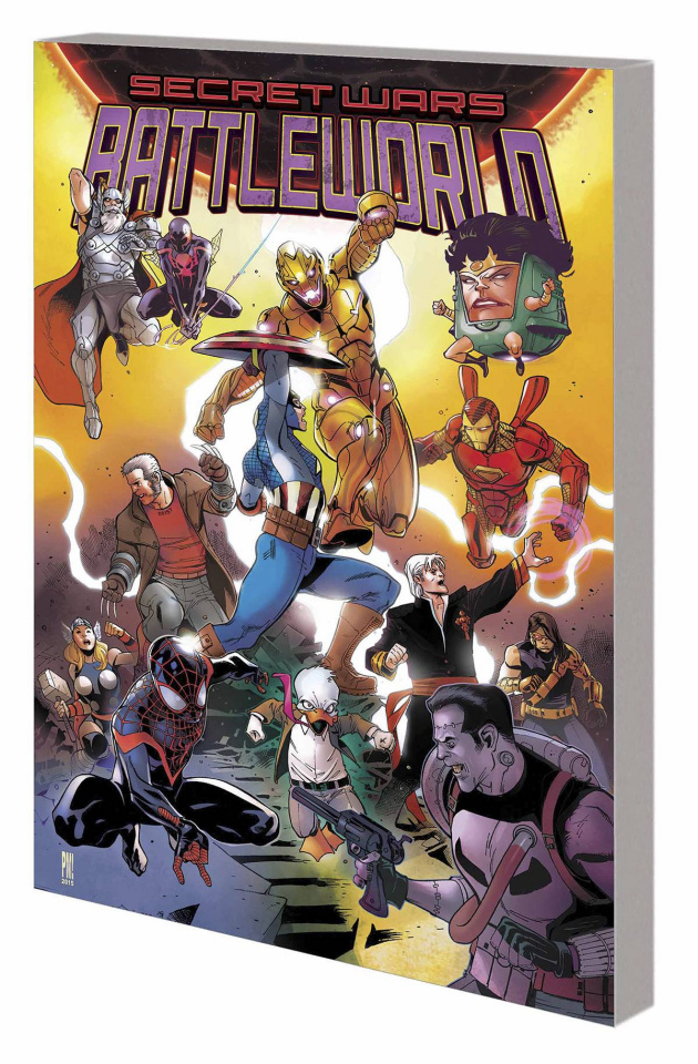 Secret Wars Journal: Battleworld