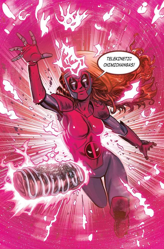X-Men: Red #4 (Schoonover Deadpool Cover)