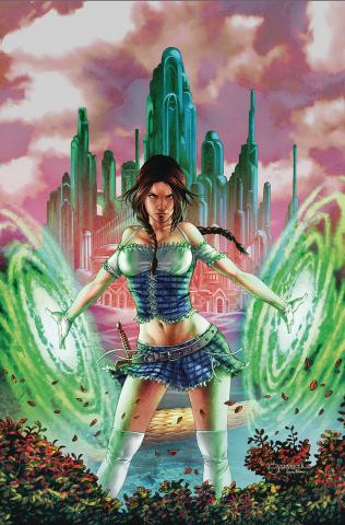 Oz: The Heart of Magic #2 (Vigonte Cover)