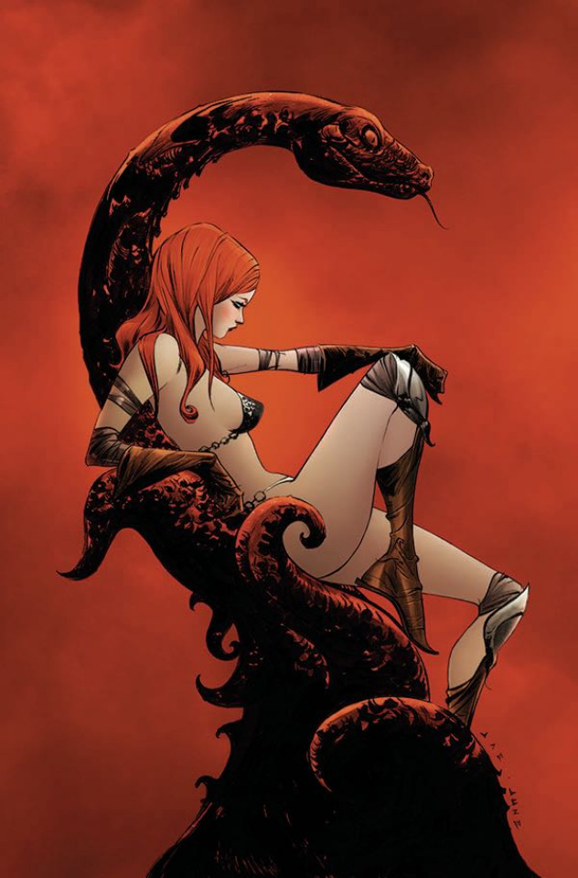 Red Sonja #13 (35 Copy Lee Virgin  Cover)