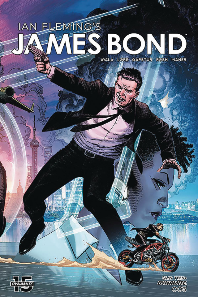 James Bond #3 (Cheung Fold Out Cover)