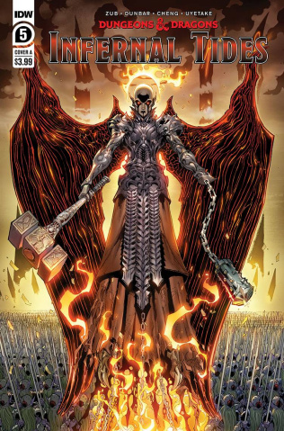 Dungeons & Dragons: Infernal Tides #5 (Dunbar Cover)