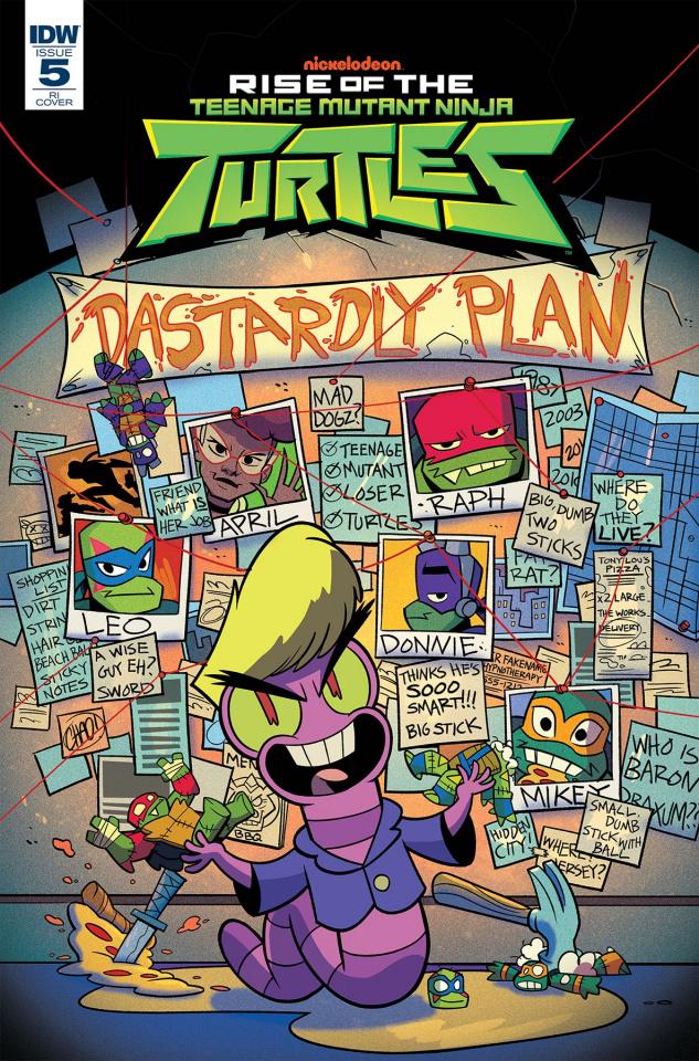 Rise of the Teenage Mutant Ninja Turtles #5 (10 Copy Thomas Cover)