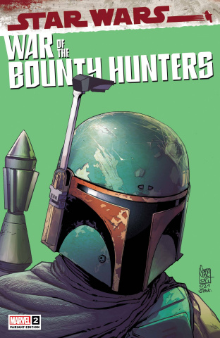 Star Wars: War of the Bounty Hunters #2 (Camuncoli Headshot Cover)