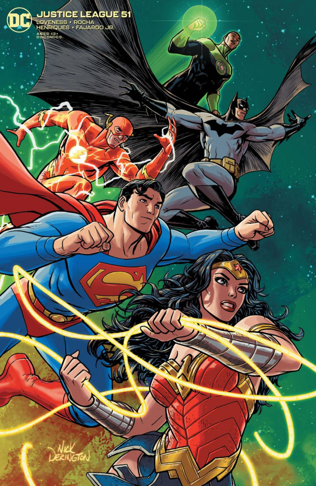 Justice League #51 (Nick Derington Cover)