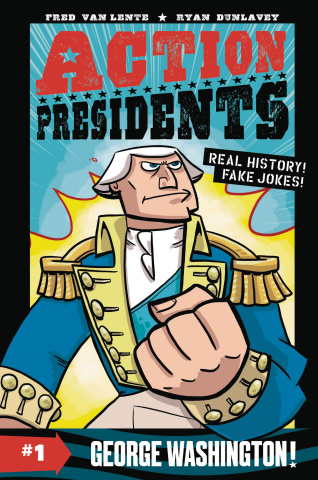 Action Presidents Book 1: George Washington