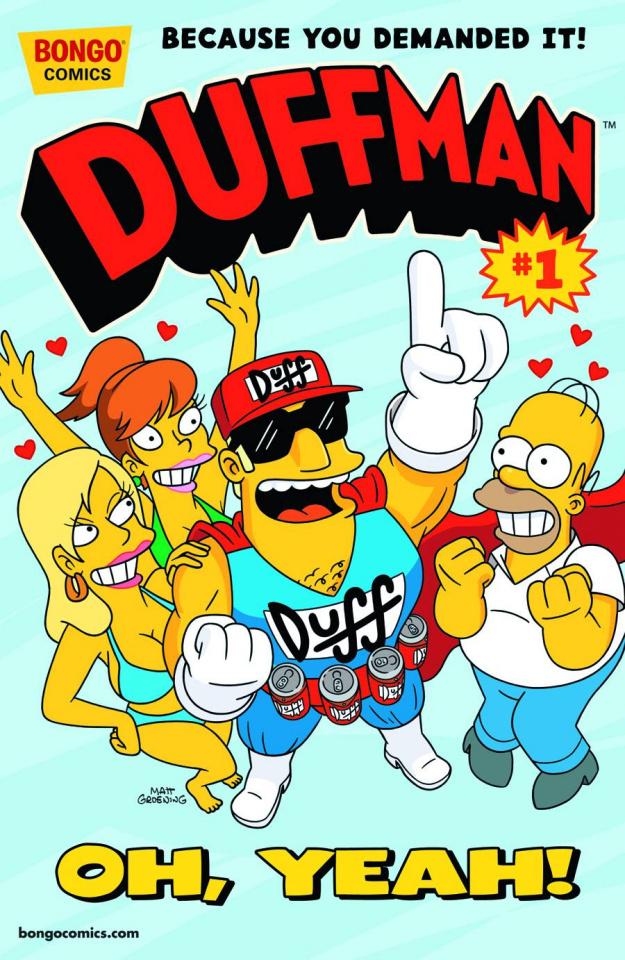 Duffman Adventures #1