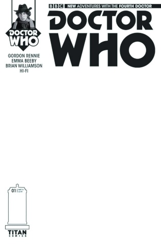 Doctor Who: New Adventures with the Fourth Doctor #1 (Blank Sketch Cover)