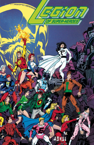 Legion of Super Heroes: Five Years Later (Omnibus)