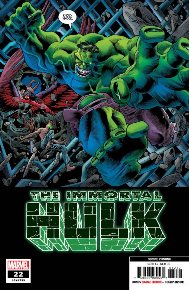 The Immortal Hulk #22 (Bennett 2nd Printing)