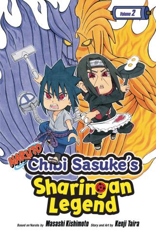 Naruto: Chibi Sasuke's Sharingan Legend Vol. 2