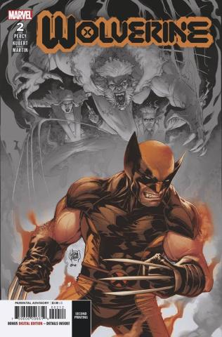 Wolverine #2 (Kubert 2nd Printing)
