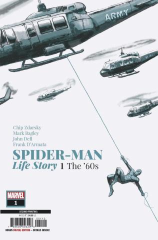 Spider-Man: Life Story #1 (Bagley 2nd Printing)